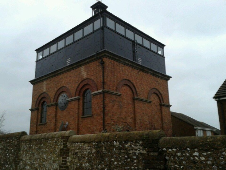 Water Tower Conversion - Portslade Hospital - Photo T.Bray