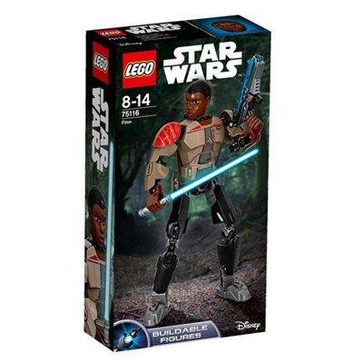 Chollo en Amazon España: Juego de construcción LEGO Star Wars Finn por 7,79€ (69% de descuento del precio de venta recomendado y precio mínimo histórico)