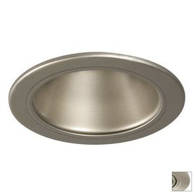 Galaxy Pewter Open Recessed Light Trim (Fits Housing Diameter: 6-in)