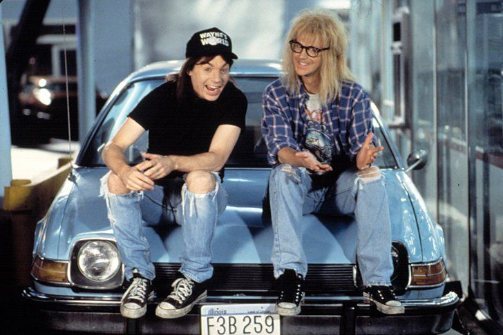 Get Your Halloween On With These Brilliant '90s Costumes Wayne and Garth From Wayne's World