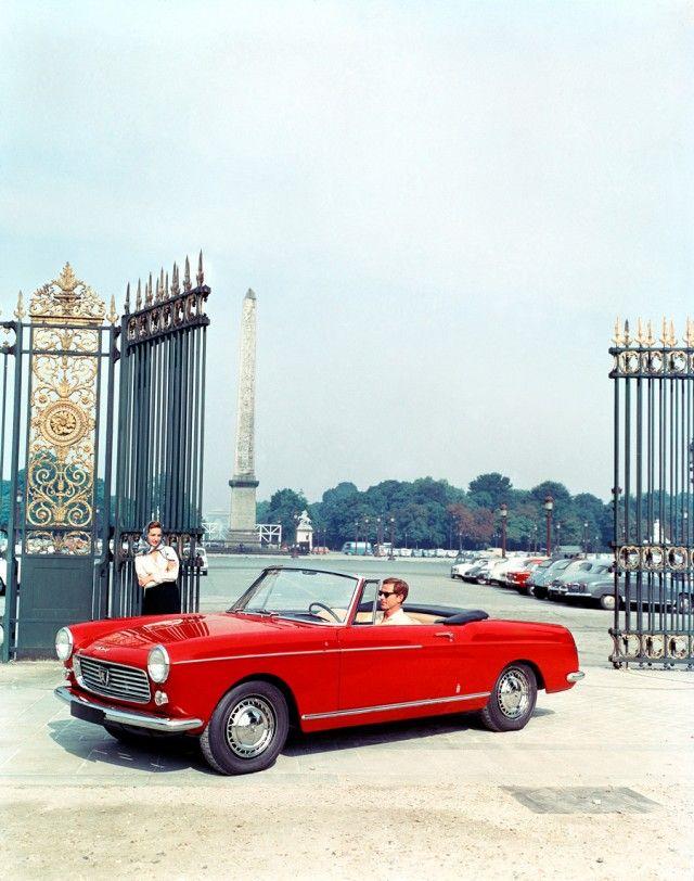 Peugeot 404 Cabriolet Plus de découvertes sur Le Blog des Tendances.fr #tendance…