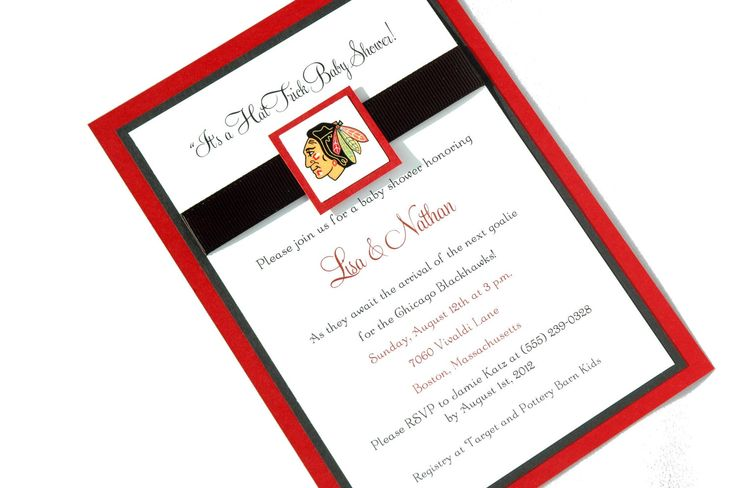 Hockey Wedding Invitations: 105 Best Shawn's Hockey Party Images On Pinterest