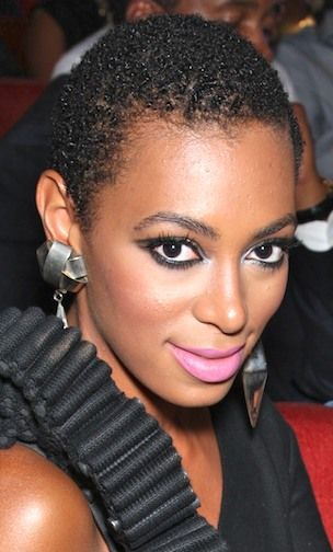 Shaved Hairstyles For Women 11 Solange Knowles Shaved