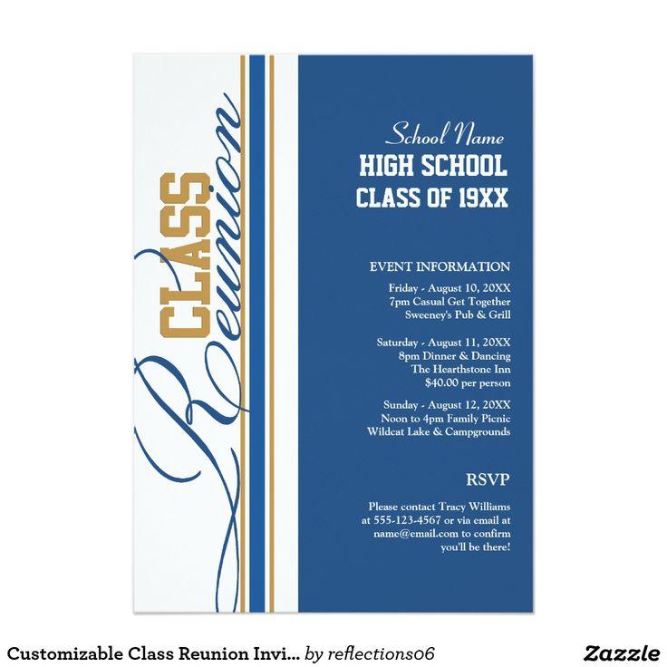 8 best Reunion Ticket images on Pinterest Class reunion - best of invitation letter sample reunion