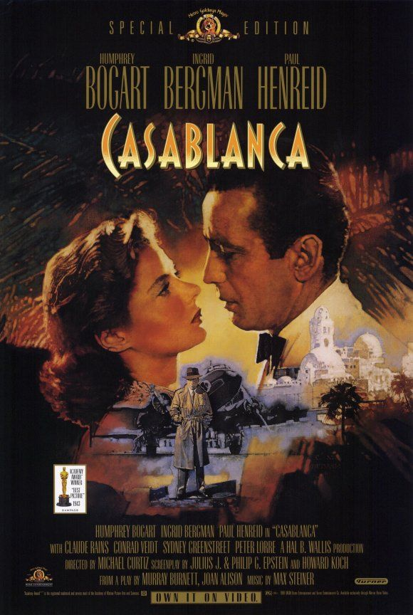 a review of the classic movie casablanca Read time's original 1942 review of casablanca: when the now-classic film premiered in new york those who cherish the movie may be nostalgic for.