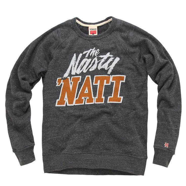 HOMAGE Nasty 'Nati Cincinnati Bengals Crewneck Sweatshirt - $58.00