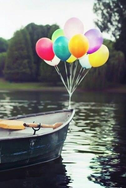As a child if I saw a Balloon I would scream & cry until I got my own ;) Even as an adult my stomach flutters & I smile when i see balloons