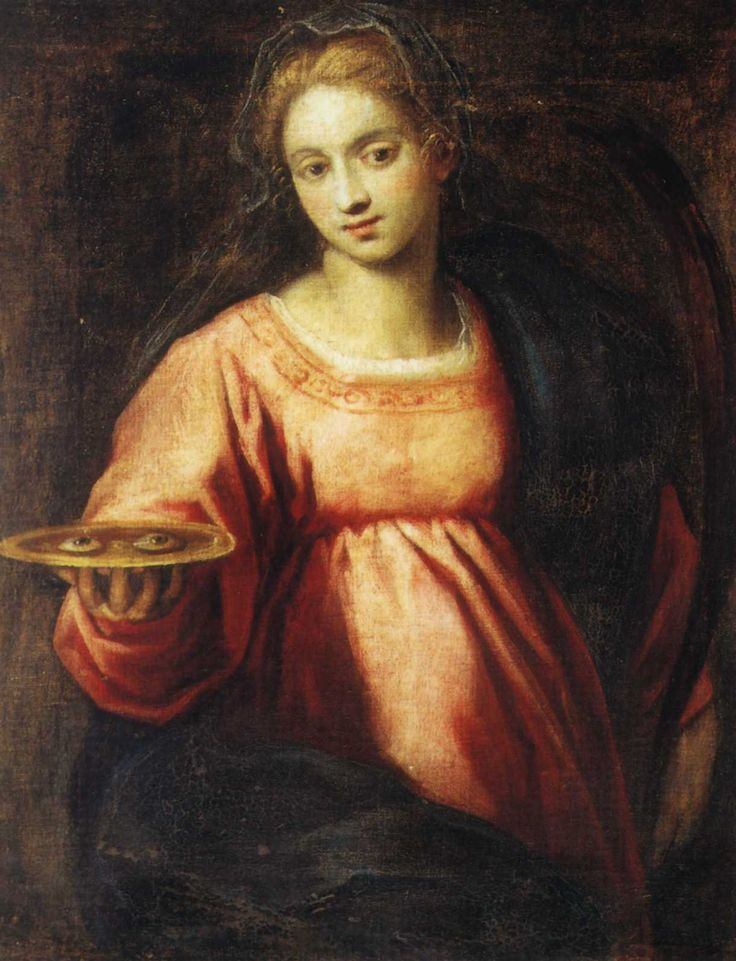 Image result for December 13 Saint Lucy, Virgin and Martyr: From The Liturgical Year of Dom Prosper Gueranger.