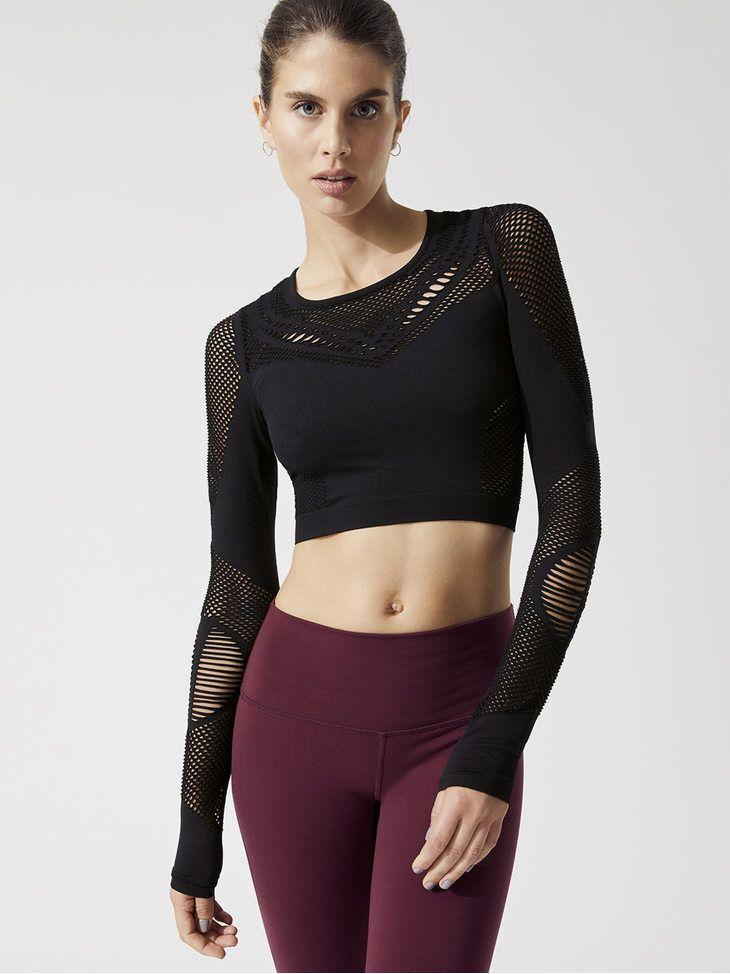 04e05ffaf0561 Alo Yoga Women's Activewear - Carbon38 | favorite | Long sleeve ...