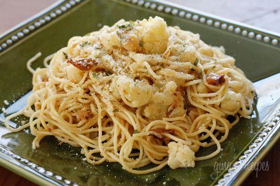 Pasta with Cauliflower - WW
