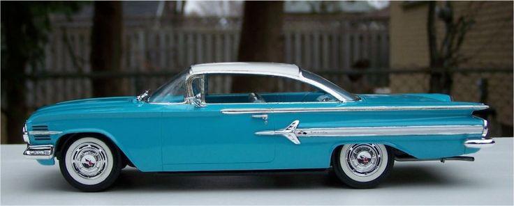 Revell 1960 Chevrolet Impala 348ci Small Scale