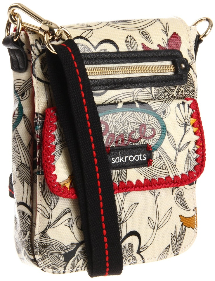 Amazon.com: The SAK Artist Circle Small Flap Messenger Cross Body: Shoes