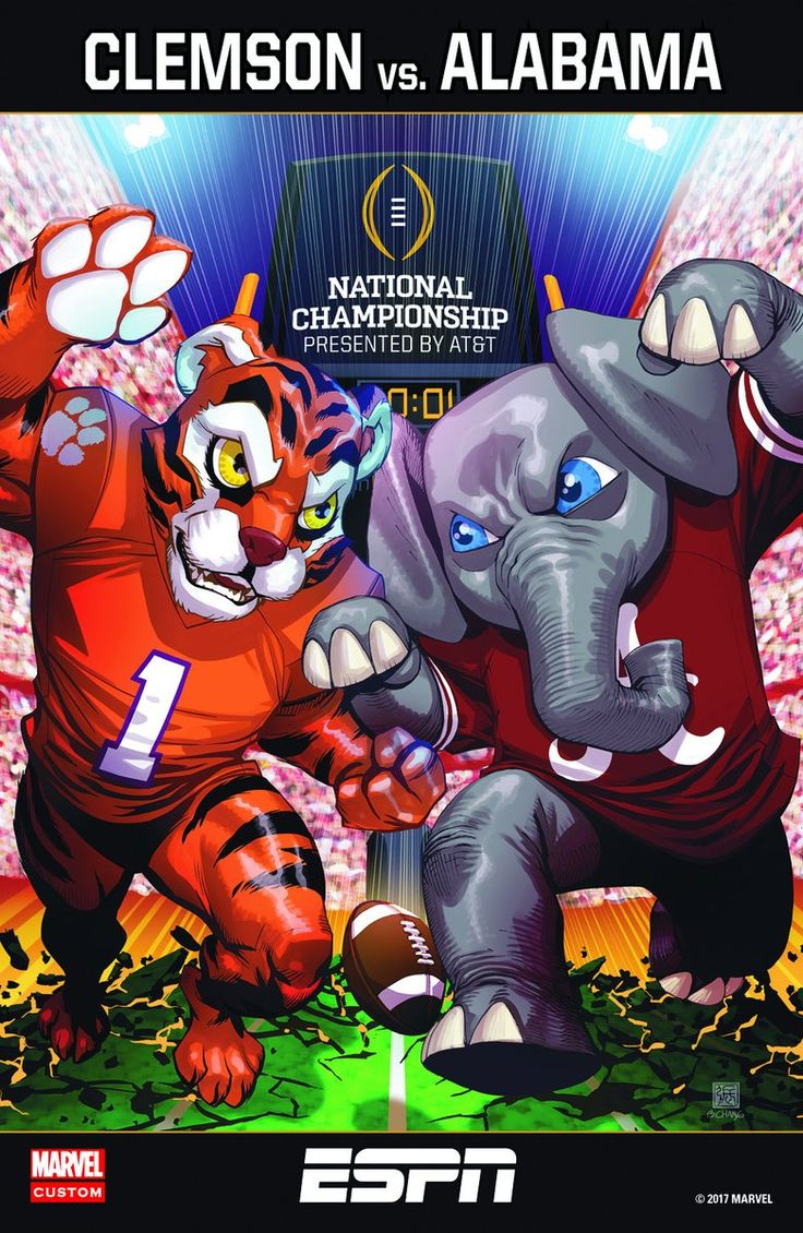 Alabama vs Clemson