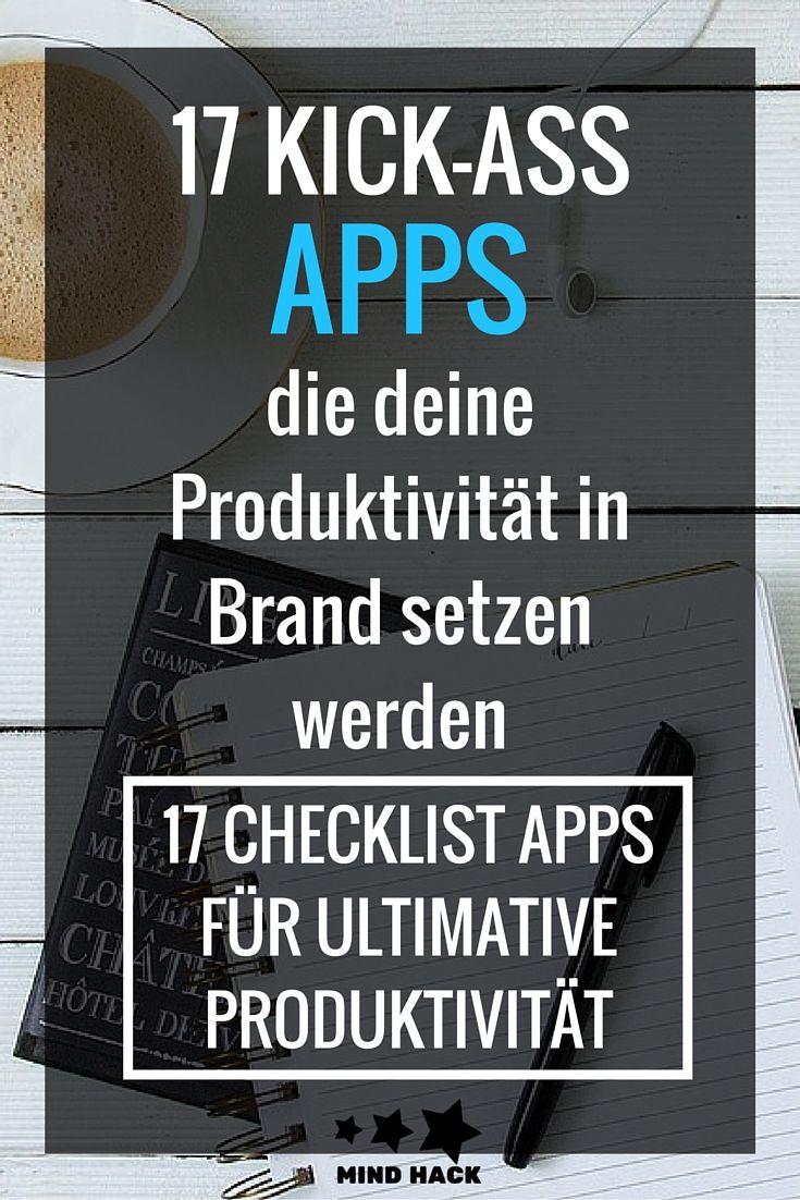 17 Kick-Ass Apps, die deine Produktivität in Brand setzen werden – Ronja – Mind-Hack.de