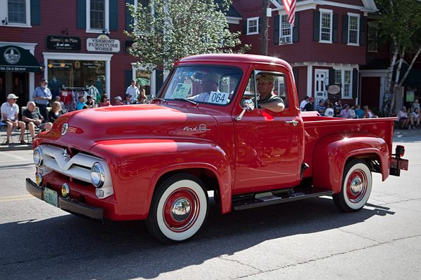 1955 Ford F Series pickup. Would be great for flea marketing. Most Collectible Fords of All Time - CNBC