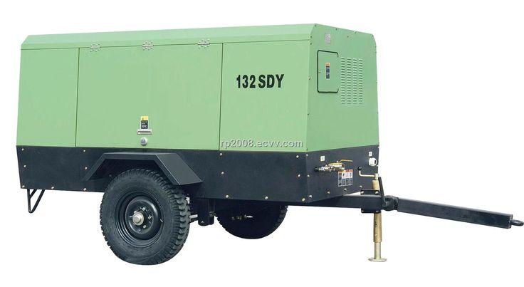 132SDY Electric drive mobile screw compressor (132SDY) - China air compressor parts air receiver compressor gas compressor oil gas compre...