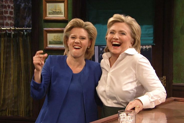 SNL: Hillary Clinton Did an Impression of Donald Trump, and It Was Amazing