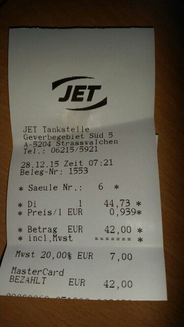 28.12.2015 - Tiefpreis