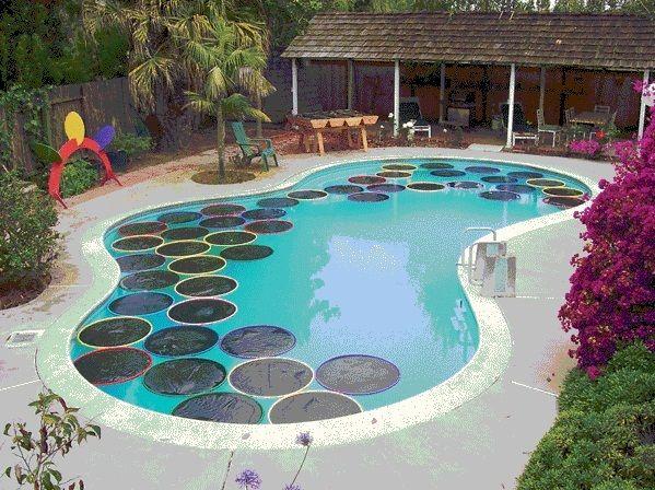 Innovative Solar Pool Heater