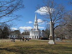 First Congregational Church, Cheshire CT.jpg ... 6 Congregational churches in Connecticut built on this same design