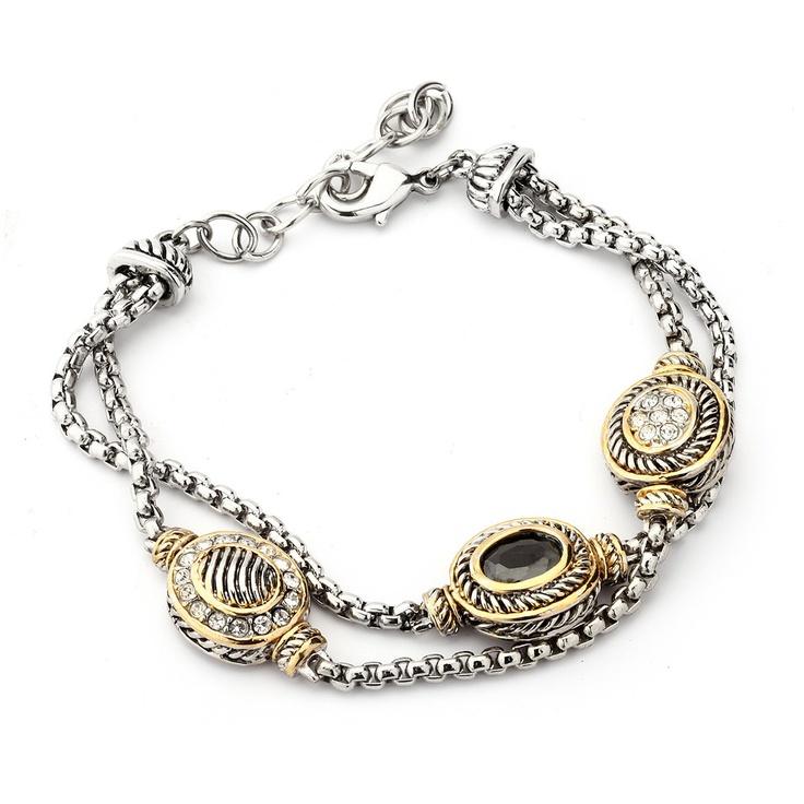 David Yurman inspired bracelet for only $29.99 at www.premiumcz.com  #DavidYurman #CZbracelet #bracelet #designerinspired #cubiczirconia