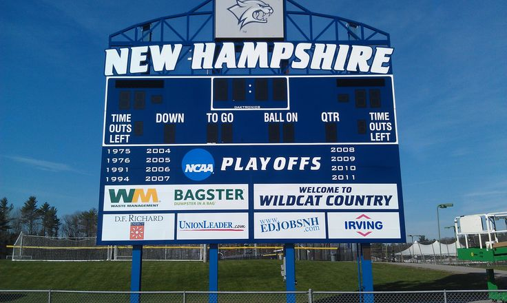 Need to change out that old sponsor logo, or need a way to utilize the back of your scoreboard to display a large school logo? We can help!