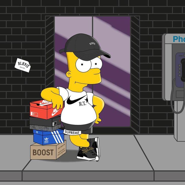 Supreme The Simpsons: Best 81 Bart Ideas On Pinterest