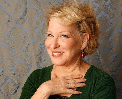 The adorable, zany and brilliant Bette Midler