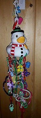 Sugar Glider/ Bird Toy - Snowman Duck Design #sugarglidersmainmomma  #glidergoodies #sugarglider