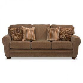 Dalton Sofa- not these pillows, too round arms?- AFW, good build/construction