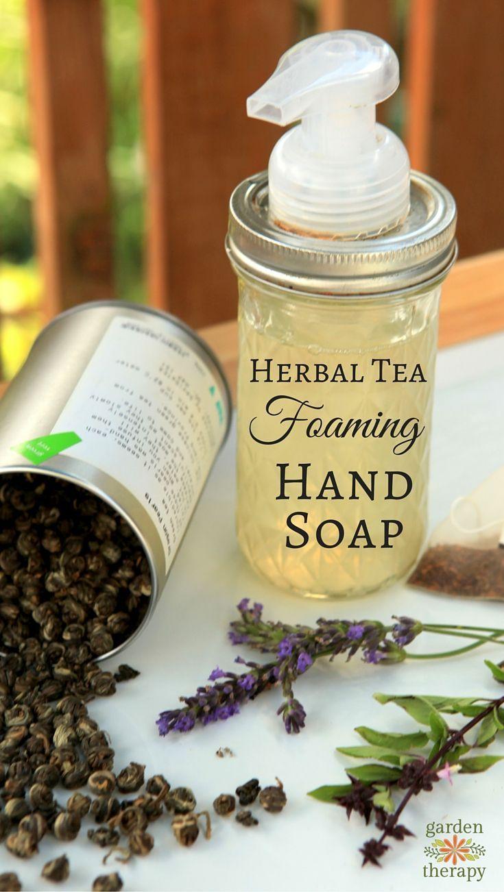 Homemade Foaming Hand Soap Recipe + a DIY Mason Jar Soap Dispenser