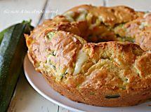 Ciambella salata con zucchine