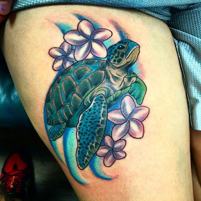 50 Tribal Sea Turtle Tattoo Designs and Meanings
