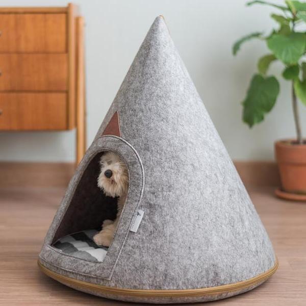 Bella Dog Cave Small Dog Cave Modern Pet Hideaway Pets
