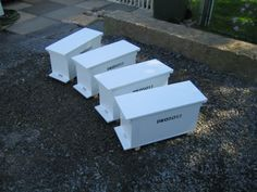 DIY Bee Hive NUC Boxes from one sheet of ply wood. Beekeeping. Bee keeping. Homesteading.