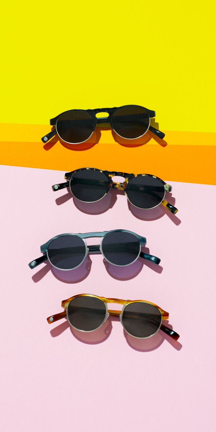 See summer better in a new pair of sunglasses. Discover our latest shapes, colors, and collections today!