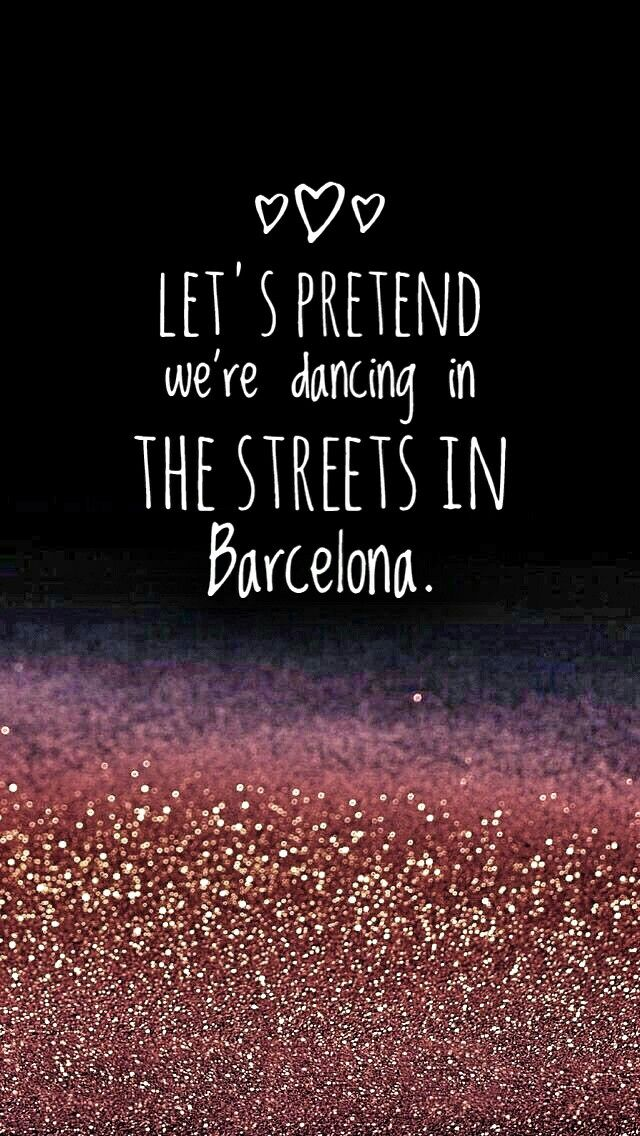 Ed Sheeran - Barcelona love love love this song!