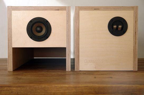 Image Result For Best Sounding Diy Bookshelf Speakersa