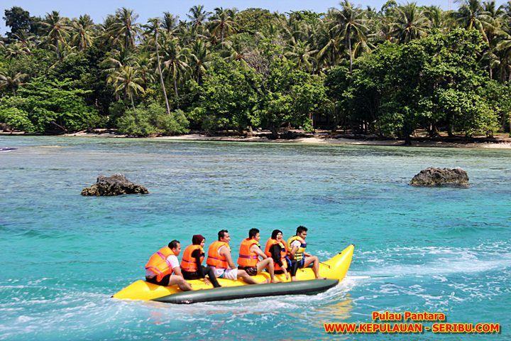 Banana Boat Pulau Pantara Resort