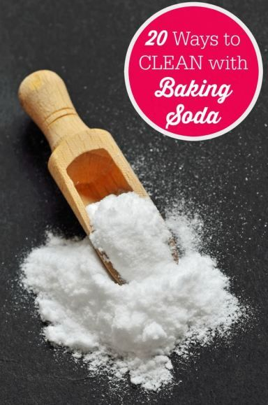 20 ways to clean with baking soda soda clean freak and clean house - Things never clean baking soda ...