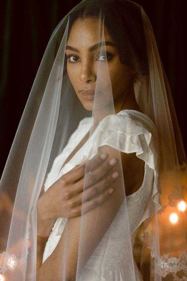 Bride in veil    #wedding #weddingideas #aislesociety #weddingeditoria