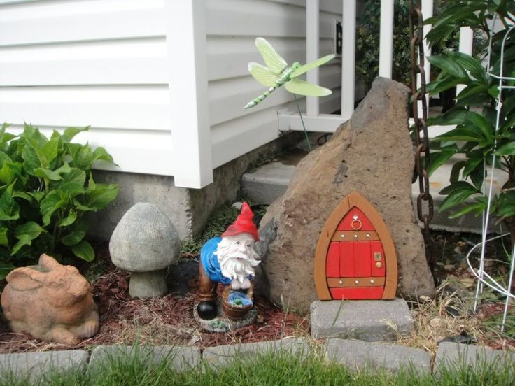 Fun Garden Idea. Hey Look @georgia Lin. Olds, Thatu0027s My Fairy Door