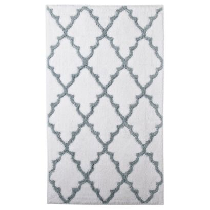 Best Bath Mat Images On Pinterest Bath Rugs Bath Mat And - Black and white tweed bath rug for bathroom decorating ideas