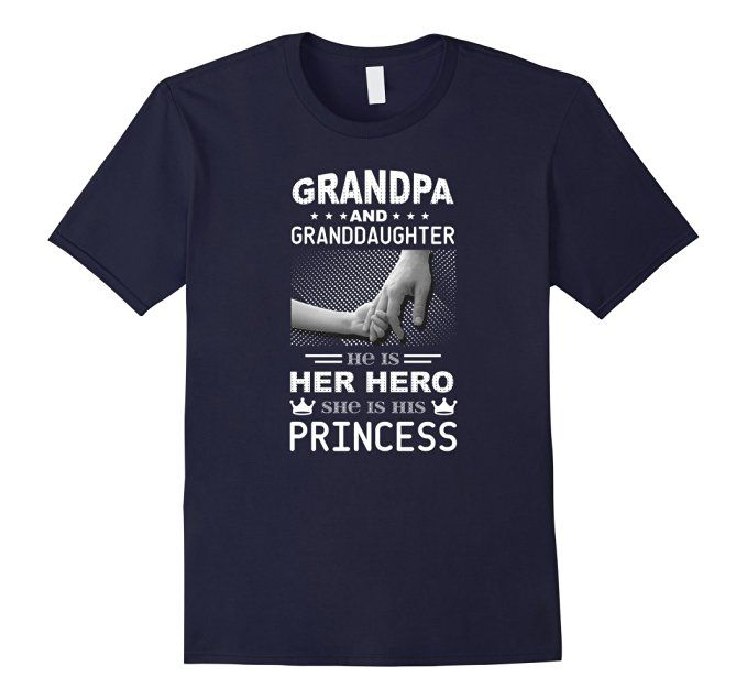 Amazon.com: Grandpa And Granddaughter T-shirt Men Women Birthday Gift: Clothing