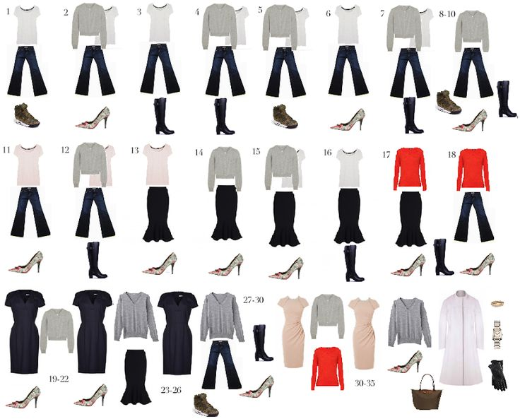 To see my ten-piece spring wardrobe, click here .     One issue people have with capsule wardrobes is they presumably don't work in extre...