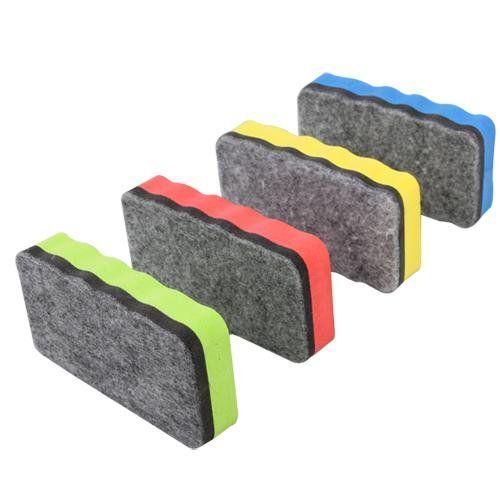 Abordable Magnétique Tableau Blanc Gomme pour sec magnétique conseil Multi Couleur Bureau Fournitures Scolaires Couleur rabdom