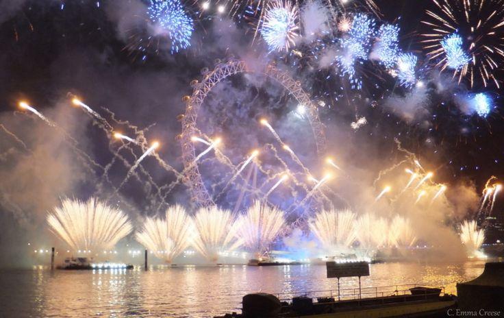 Fireworks over London. 2015 Travel Wishlist - Travel Linkup