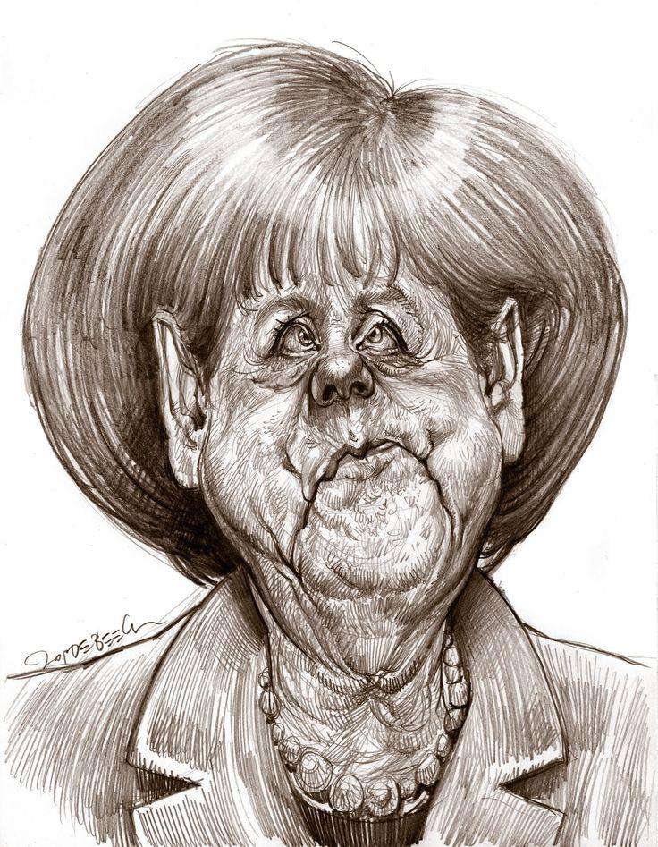 Jan Op De Beeck | Angela Merkel @ Jan Op de Beeck