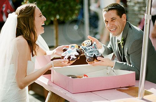 Deep Fried Sugar Glazed Love: a Doughnut Shop Wedding