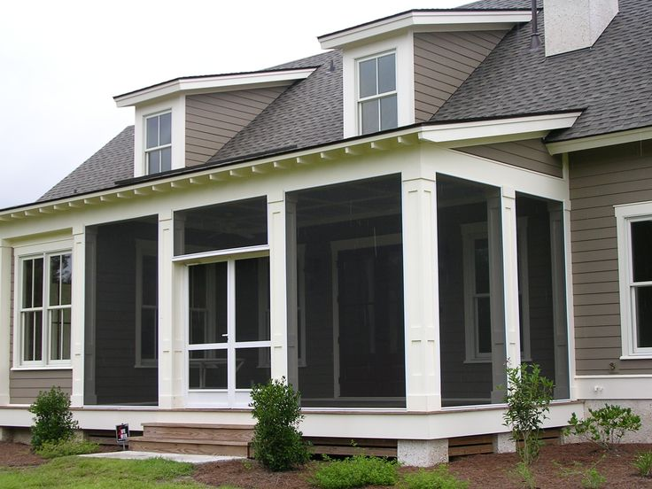 94 best screened in porch ideas images on pinterest for Enclosed front porch pictures